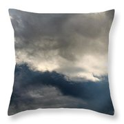 Storm Clouds Throw Pillow by J McCombie