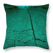 Straight Throw Pillow by Margie Hurwich