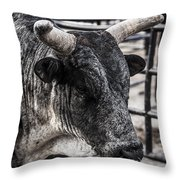 Strategizing Throw Pillow by Amber Kresge