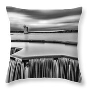 Strathclyde Park Scotland Throw Pillow by John Farnan