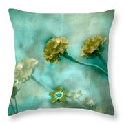 Stretching Toward Morning Throw Pillow by Bonnie Bruno