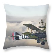 Strike Throw Pillow by Pat Speirs