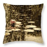 Summer Afternoon Throw Pillow by Marcia Lee Jones