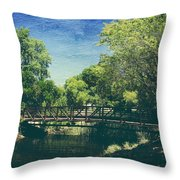 Summer Draws Near Throw Pillow by Laurie Search