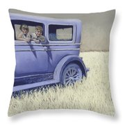 Summer Of '29 Throw Pillow by Tracy L Teeter