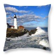Summer Waves Throw Pillow by Lloyd Alexander