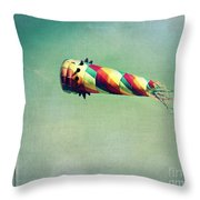 Summer Wind Throw Pillow by Perry Webster