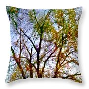 Sun Dappled Throw Pillow by Dale   Ford