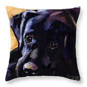 Sun Day Throw Pillow by Molly Poole