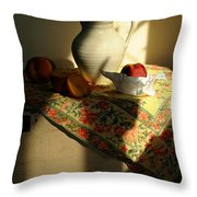 Sun Shade Throw Pillow by Diana Angstadt