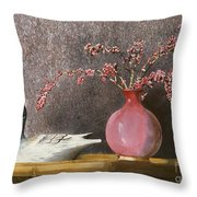 Sunday Afternoon Throw Pillow by Monte Toon