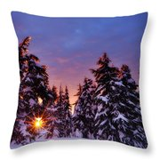 Sunrise Dreams Throw Pillow by Darren  White