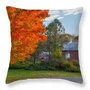 Sunrise On The Farm Throw Pillow by Bill Wakeley