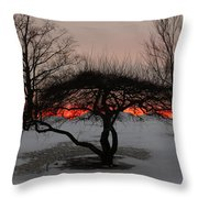 Sunroof Throw Pillow by Luke Moore