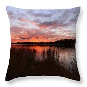 Sunset Bliss Throw Pillow by Lourry Legarde