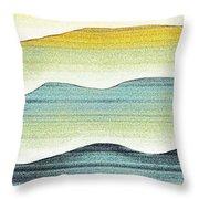 Sunset Throw Pillow by Brenda Bryant