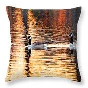 Sunset Cruise Throw Pillow by Scott Pellegrin