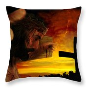 Sunset Throw Pillow by Mark Spears
