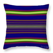 Sunset Over The Ocean Fractal Throw Pillow by Rose Santuci-Sofranko