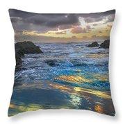 Sunset Reflections Throw Pillow by Robert Bales