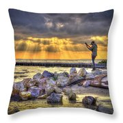 Sunset Serenade  Throw Pillow by Marvin Spates