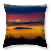 Sunset Serenity Throw Pillow by Joe Bledsoe