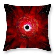 Super Massive Black Hole Throw Pillow by David Lee Thompson