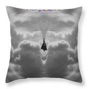 Superman Throw Pillow by Dan Sproul