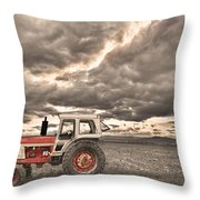 Superman Sepia Skies Throw Pillow by James BO  Insogna
