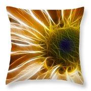 Supernova Throw Pillow by Adam Romanowicz