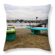 Suping Throw Pillow by Heidi Smith