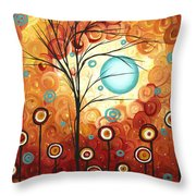 Surrounded by Love by MADART Throw Pillow by Megan Duncanson