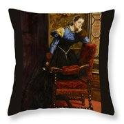 Swallow Swallow Throw Pillow by Philip Ralley