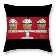 Sweet Delights Throw Pillow by Catherine Holman