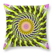 Swirl Throw Pillow by Bobbie Barth