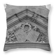 Symbols Of Freedom Altered Throw Pillow by Teresa Mucha