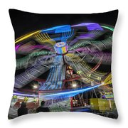 Take Me To Your Leader Throw Pillow by Joan Carroll