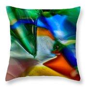 Talons Verde Throw Pillow by Omaste Witkowski