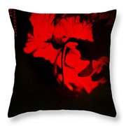 Tango Of Passion For You Throw Pillow by Jenny Rainbow