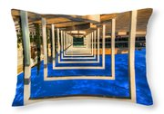 Tel Aviv Jump Throw Pillow by Ron Shoshani
