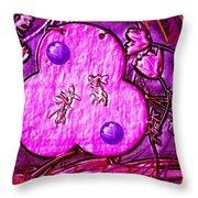 Temple Sanctum Sanctorum Throw Pillow by Pepita Selles