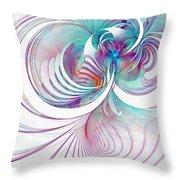 Tendrils 02 Throw Pillow by Amanda Moore
