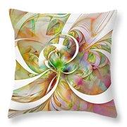 Tendrils 06 Throw Pillow by Amanda Moore