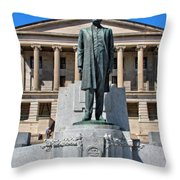 Tennessee Capitol Throw Pillow by Dan Sproul