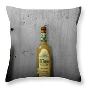 Tequila And Vino Tinto Throw Pillow by Cheryl Young