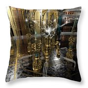 Tesla Power Generator Throw Pillow by James Christopher Hill
