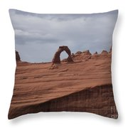 Test Of Time Throw Pillow by Luke Moore