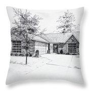 Texas Home 1 Throw Pillow by Hanne Lore Koehler