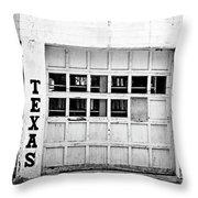 Texas Junk Co. Throw Pillow by Scott Pellegrin