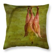 Textures Of Nature 2 Throw Pillow by Jack Zulli